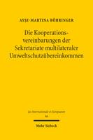 Die Kooperationsvereinbarungen der Sekretariate multilateraler Umweltschutzübereinkommen