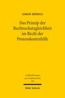 Das Prinzip der Rechtsschutzgleichheit im Recht der Prozesskostenhilfe
