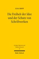 Die Freiheit der Idee und der Schutz von Schriftwerken