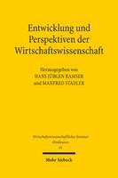 Entwicklung und Perspektiven der Wirtschaftswissenschaft