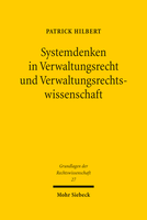 Systemdenken in Verwaltungsrecht und Verwaltungsrechtswissenschaft