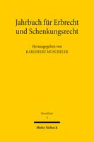 Jahrbuch für Erbrecht und Schenkungsrecht