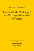 Innerstaatliche Wirkungen des Vertragsverletzungsverfahrens