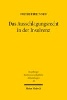 Das Ausschlagungsrecht in der Insolvenz