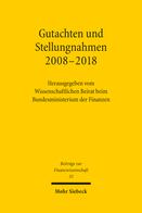 Gutachten und Stellungnahmen 2008–2018