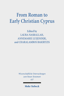 From Roman to Early Christian Cyprus