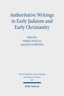 Authoritative Writings in Early Judaism and Early Christianity