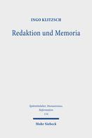 Redaktion und Memoria