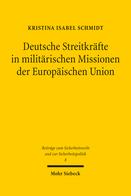 Deutsche Streitkräfte in militärischen Missionen der Europäischen Union