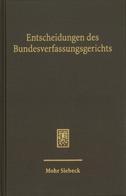 Entscheidungen des Bundesverfassungsgerichts (BVerfGE)