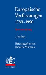 Europäische Verfassungen 1789–1990