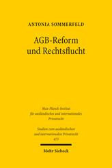 AGB-Reform und Rechtsflucht