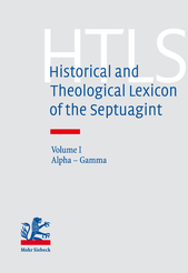 Historical and Theological Lexicon of the Septuagint
